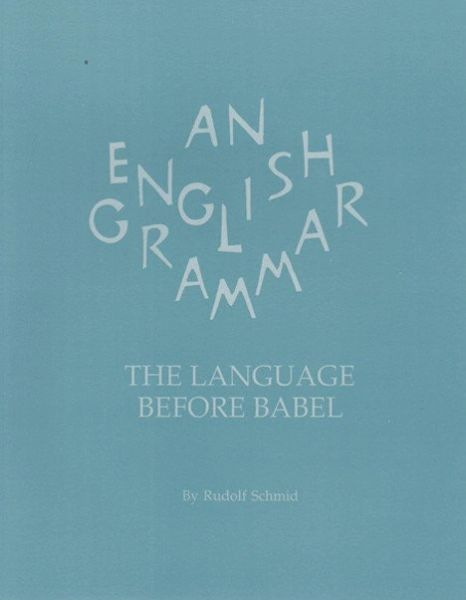 An English Grammar Rudolf Schmidt