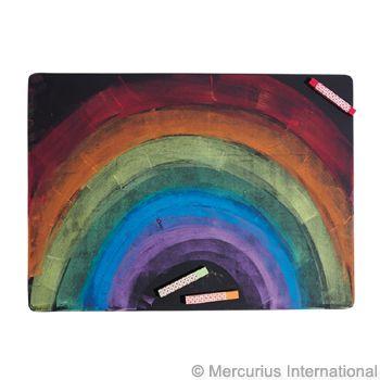"""Wooden chalkboard 11.8""""x15.75"""""""