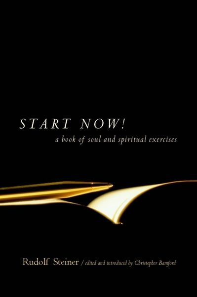 Start Now! A Book of Soul and Spiritual Exercises Introduction by Christopher Bamford