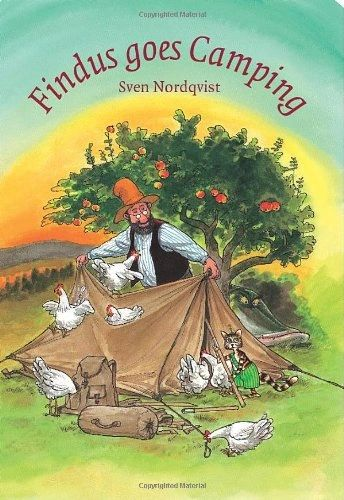 Findus Goes Camping by Sven Nordqvist