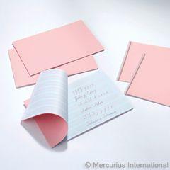 Handwriting Practice Book, pink - staple bound - 1 book