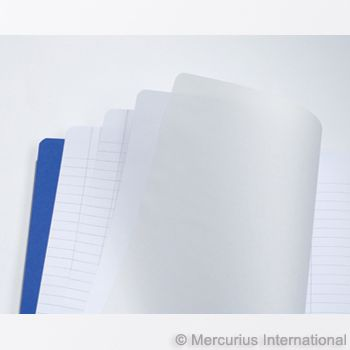 Main lesson book - 21x25 cm - 2 pages lined / 1 page blank - with onion skin , 1book
