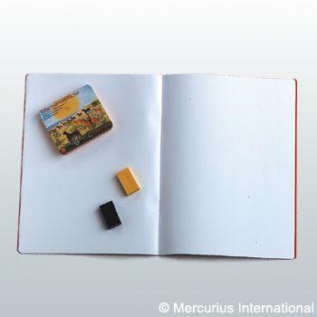 Main lesson book - portrait format - 24x32cm /12.6x9.45 inch - no onion skin - 1 book