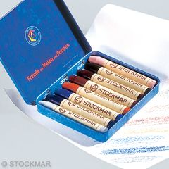 Stockmar Wax Crayons - 8 colours supplementary assortment-set 1