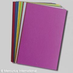 English cardboard, 12.8x19.7 inch, 280grs 1 set of 22 sheets containing 11 colors