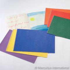 Spiral Bd.Main lesson book - landscape format - 48x32cm/18.9x12.6 inch - no onion skin