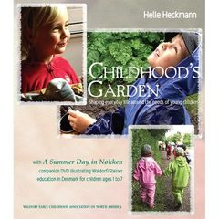 Childhood's Garden Book & DVD set by Helle Heckmann