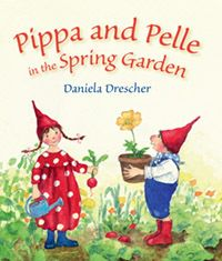 Pippa and Pelle in the Spring Garden by Daniela Drescher