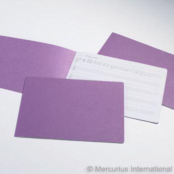 Staple Bd Music Book purple