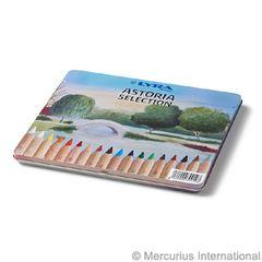 Lyra Super Ferby unlacquered Astoria 18 pencils