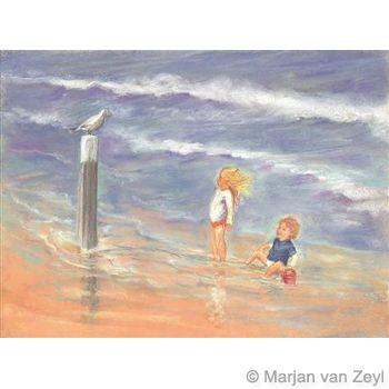 Watch a Seagull Postcard 1 piece