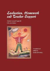 Evaluation, Homework and Teacher Support by David Mitchell