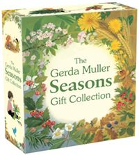 The Gerda Muller Seasons Gift Collection Spring, Summer, Autumn, and Winter Illustrated by Gerda Muller
