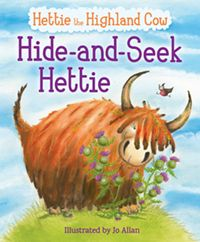 Hide-and-Seek Hettie The Highland Cow Who Can't Hide!