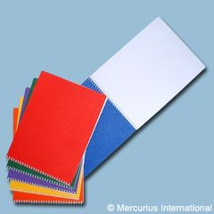 Spiral Bd.Main lesson book - landscape format - 32x24cm/ 12.6x9.45 inch - no onion skin ,1 book