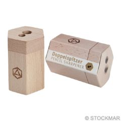 Stockmar Dual Pencil Sharpener FSC Lime Wood