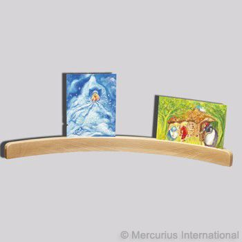 Curved Postcard Holder - Large