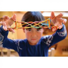 Sarah's Silks Rainbow String Game 1 pc