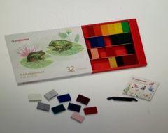 Stockmar Wax Block Crayons Box -32 Assorted