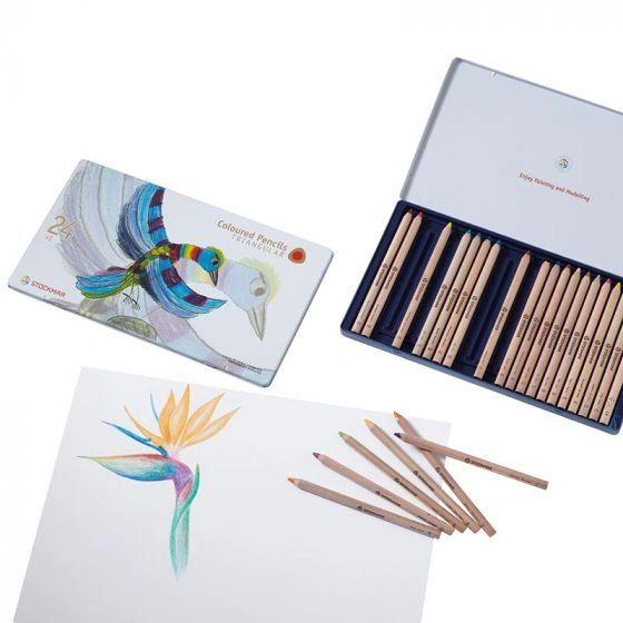 Stockmar Colored Pencils Triangular Assortment 24+1