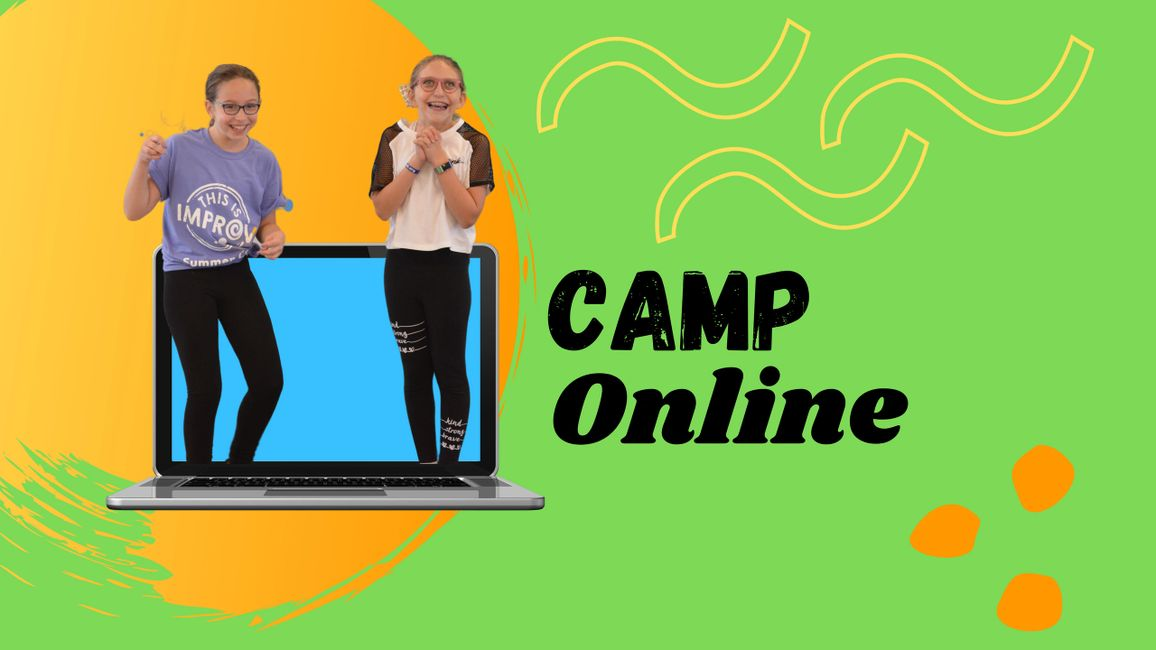 Improv and Comedy Camp Online