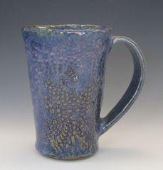 Blue Opal Hand-built Mug