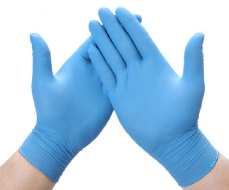 Certified nitrile gloves - full container sales - in stock - 4mil