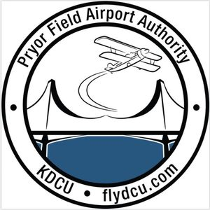 Pryor Field Regional Airport logo