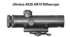 Ultralux 4X20 AR15 Riflescope