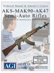 AKS/MAK90 Technical Manual and Armorer's Course DVD