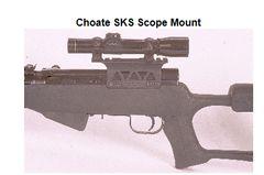 Choate SKS Scope Mount