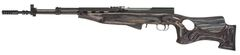 Timber Smith - Thumbhole Right Handed Laminate Wood Stock - Black