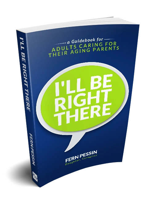 I'll Be Right There book jacket