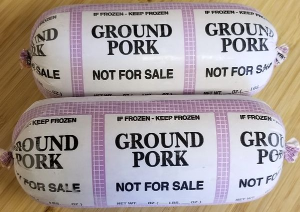 Pasture Raised Ground Pork