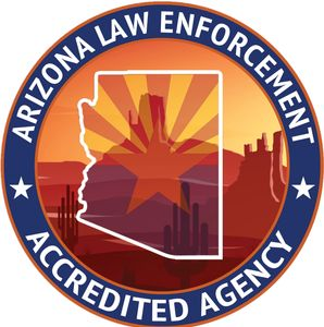 Arizona Law Enforcement Accreditation Program Accredited Agency Seal