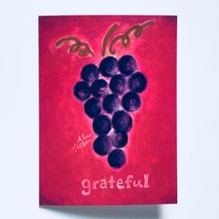 Grateful 🍇 Greeting Card