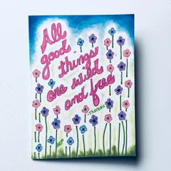 All Good Things Card
