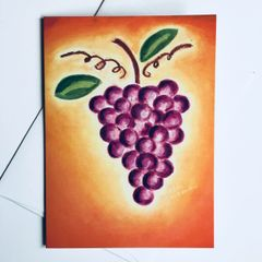 Sunset Vine Card