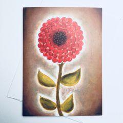 Mum Flower Card