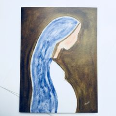 Blessed Mary Card