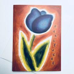 Perseverance Tulip Card