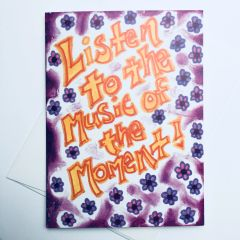 Listen To The Music 🎼 Card