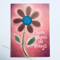 Love Hopes All Things Card