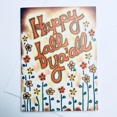 Happy Fall Ya'all Card