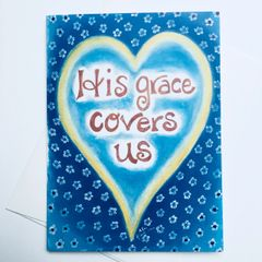 His Grace Covers Us Card