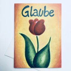 "Glaube ""Faith"" Card"