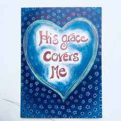 Grace Covers Me Card