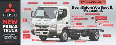 New Fuso Gasoline GM V8 6 Litre