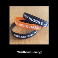 Wristband - orange