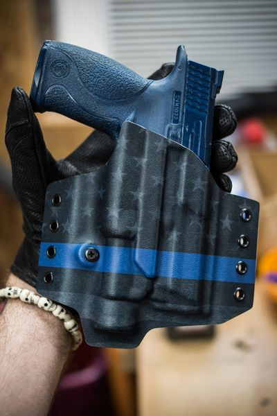Outside the Waistband (OWB) Kydex Holster